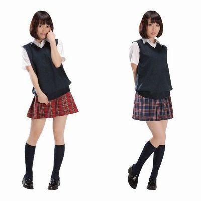 女子高生ミニスカ制服で激しいエッチ