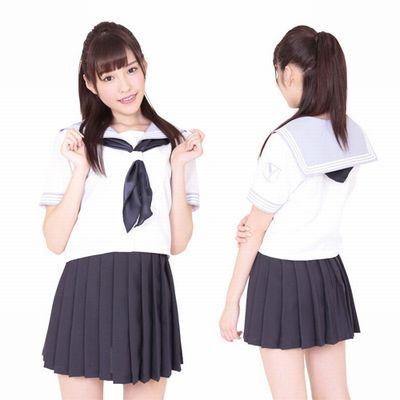 可愛くキュートな女子高生制服