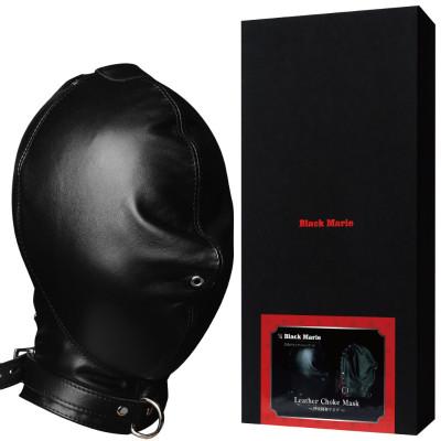 呼吸制御窒息プレイ用全頭マスク