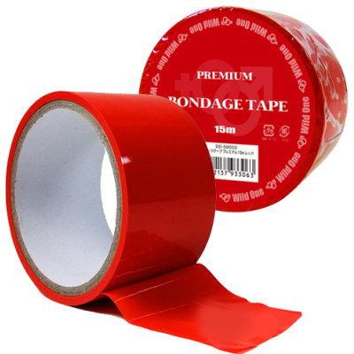 肌・髪に付かないSM拘束テープ